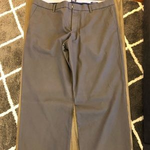Dark Gray Gap Khakis Relaxed Fit. Size 38x32